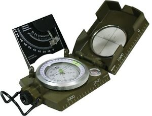 Military-COMPASS-with-CLINOMETER-Italian-Army-Type-Pocket-Hiking-Kit-Equipment
