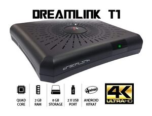 Dreamlink T1 Android IPTV set top box 4K/2K UHD 1080P