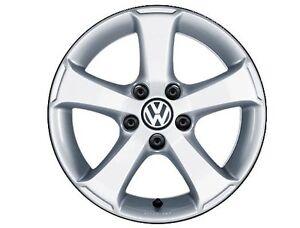 "Roue, Mag Sima 17"" Volkswagen OEM 5x112 Neuf"
