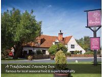 Chefs & kitchen staff wanted for destination Essex pub. Immediate start available