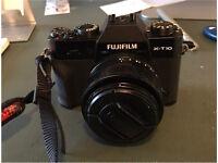 Fuji X-T10 camera body