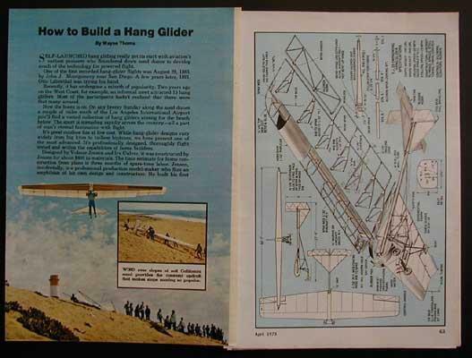 Hang Glider Wooden Frame 32