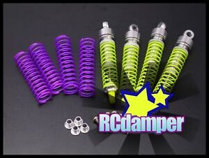 ALUMINUM-FRONT-REAR-OIL-SHOCK-DAMPER-S-FOR-TEAM-LOSI-1-18-MINI-T-ALLOY