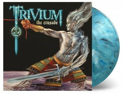 TRIVIUM - Crusade 2LP,  LIMITED BLUE/ WHITE/ BLACK MIXED COLORED Vinyl 180G NEW
