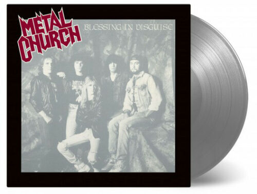 Metal Church Blessing In Disguise LP NUMBERED COLORED Vinyl THRASH METAL RECORD