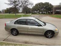 2002 Honda Civic Sedan with Safety & Emission