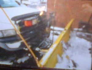 1996 Dodge Power Ram 2500 Pickup Truck With Snow Plow