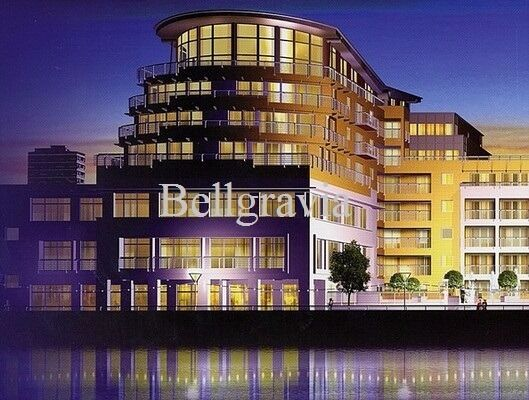 One Bed In Contemporary Oyster Wharf Battersea With River View