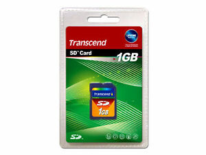 Genuine-Transcend-1gb-SD-memory-Card-for-Polaroid-cameras-UK-seller