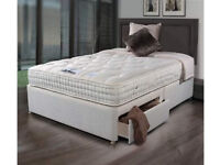 Sleepeezee Backcare luxury 1400 pocket-sprung mattress for standard double bed