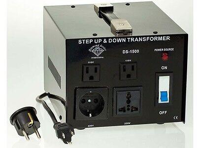 как выглядит Преобразователь напряжения для аккумулятора Diamond Series 1500 Watt Step Up/Down Voltage Converter Transformer фото