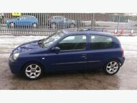 Clio 1.2 ,9 month MOT 97k mls,great cond.no faults £495