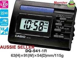 CASIO CLOCK DQ-541-1R DQ541 DQ-541 ALARM LED LIGHT 12 MNTH WRTY