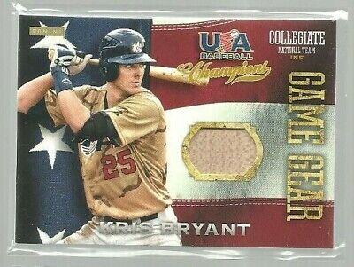 2013 USA Baseball Champions Game Gear Bats #1 Kris Bryant (ref 95581)