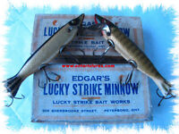 COLLECTOR BUYING VINTAGE FISHING TACKLE