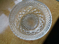 OLD CUT GLASS BOWL