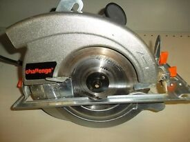 Challenge 185mm Circular Saw, Boxed, Like new. NO OFFERS (diy,building,tools)