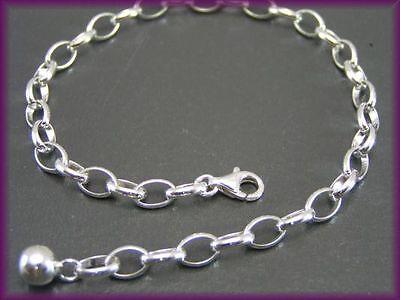 Bettelarmband Charmarmband Silberarmband Echt 925 Silber Charms Sterlingsilber