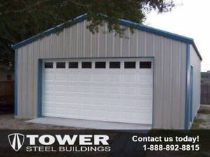 PRE-FABRICATED STEEL BUILDINGS - END OF SEASON SALE