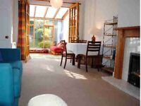 2 Bedroom furnished house in Allan Park Crescent, Craiglockhart