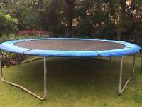 FREE 13ft trampoline!