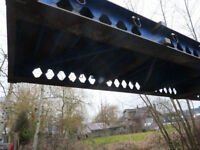 STEEL CONTAINER BRIDGE - 40' span your creek or ditch