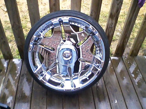 Player 902 rims with tires