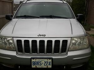 2002 Jeep Grand Cherokee Overland Edition (4.7L H.O.) -For Parts