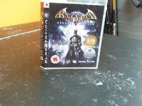 BATMAN ARKHAM ASYLUM PS3 GAME