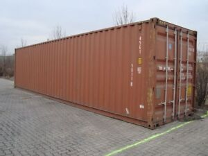 GOOD Quality Used 20' and 40' Shipping/Storage SEACAN Containers