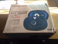 NEW & BOXED KENWOOD KFC-HQ695 CAR SPEAKERS