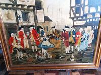 magnificent 18th century scene