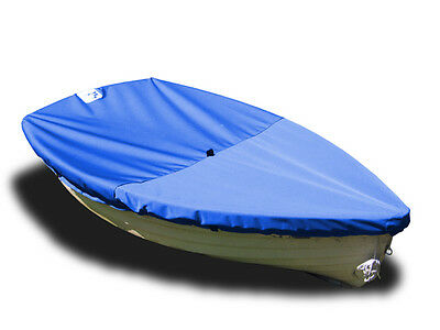 Walker Bay 10 Sailboat - Boat Deck Cover Blue Sunbrella