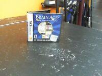 BRAIN AGE 2 - NINTENDO DS GAME