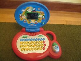 Vtech Thomas the Tank Engine Laptop in full working order - Great Used Condition.