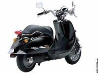 aprillia habana retro custom 125cc auto scooter
