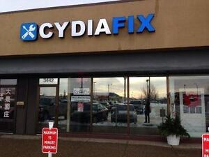 Tablet ★Samsung, iPad, Surface★ Screen repair Edmonton CydiaFix