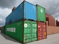 40' & 20' Steel storage containers seacan SPECIALS!