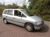 Vauxhall Zafira 1.8i 16v Club 2001 Versatile 7 Seater