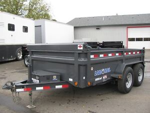 Dump Trailer for RENT.  14,000 GVW