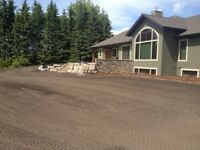 Acreage and farm driveways