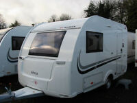 COMPACT & LIGHTWEIGHT TOURER SLEEPING UP TO FOUR SAVE £1000
