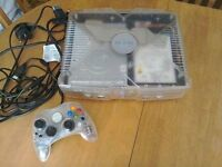 xBox Console Crystal Clear Edition