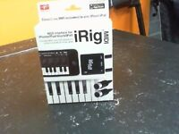 IRIG MIDI INTERFACE FOR IPHONE/IPOD/IPAD