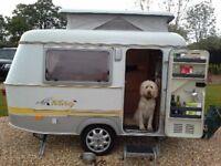Eriba Puck 120 touring caravan 2001