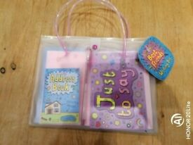 Child's writing set 'Best Friends'. New with tag.