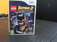 BATMAN 2 DC SUPER HEROES WII GAME