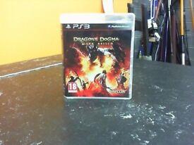 DRAGONS DOGMA DARK ARISEN PS3 GAME