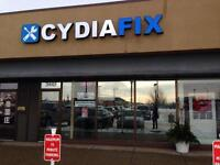 CydiaFix INC★iPhone 3/4/4S/5/5C/5S/6/6+ Repair★in  EDMONTON
