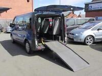 Nissan Primastar, disabled access van, camper conversion
